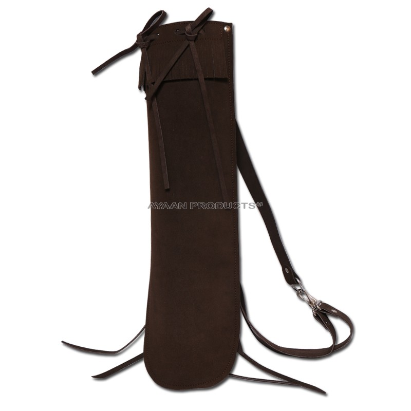 Brown Archery Back Quiver