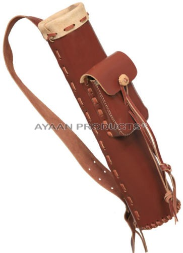 Traditional Leather Arrow Quiver
