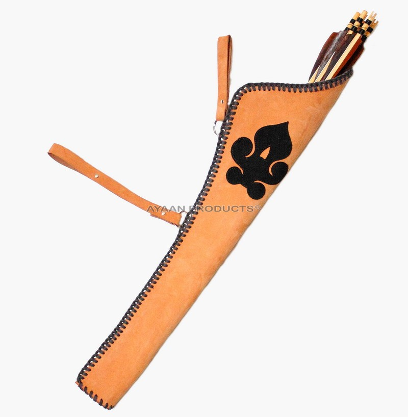 Leather Traditional Back Quivers