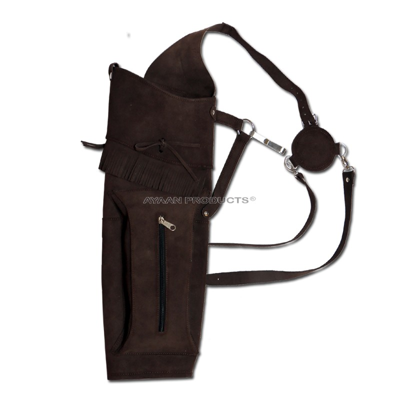 Brown Leather Back Quivers