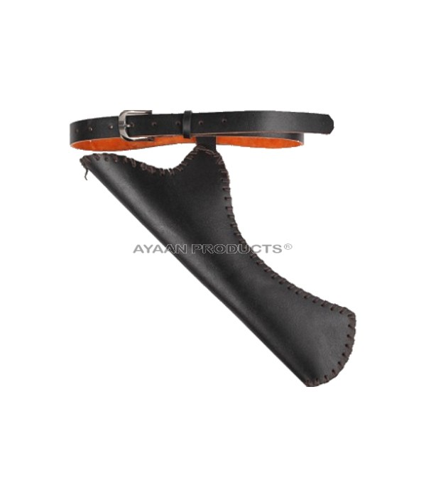Side Leather Arrow Quiver