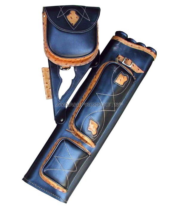 Archery Side Leather Quiver