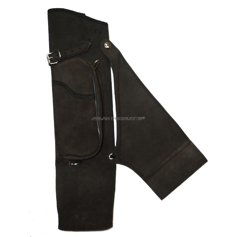 Black Side Leather Quiver