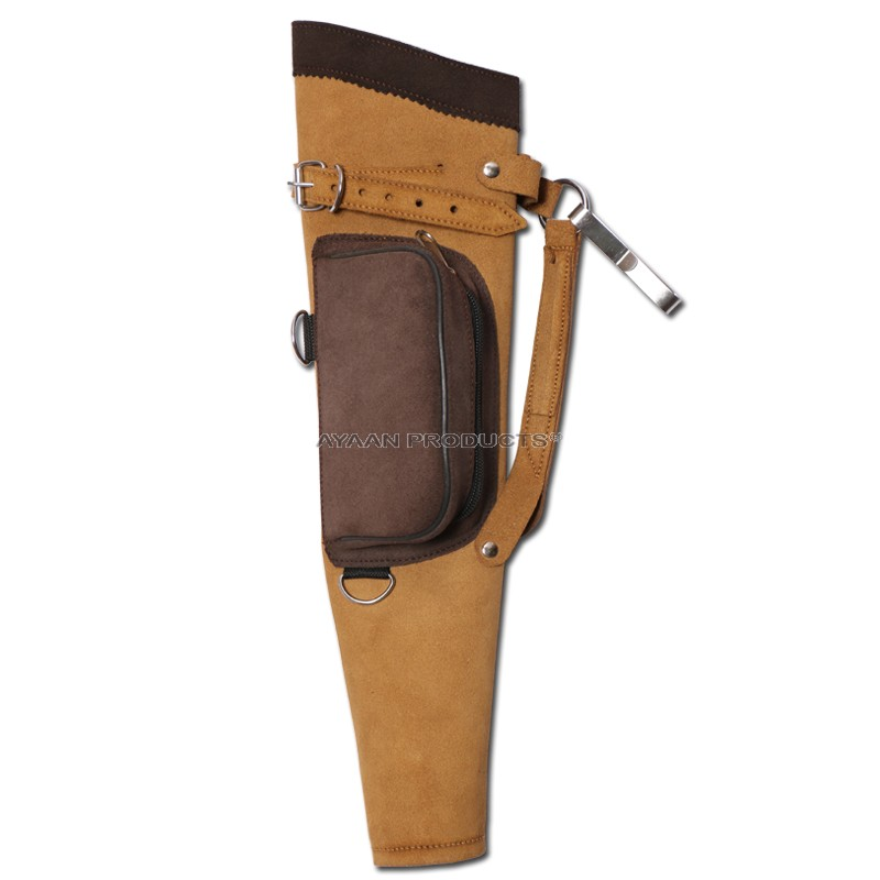 Leather Quest Target Quiver