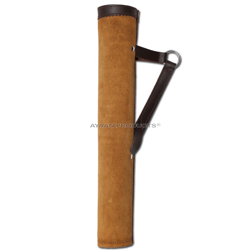 Suede Leather Side Quiver