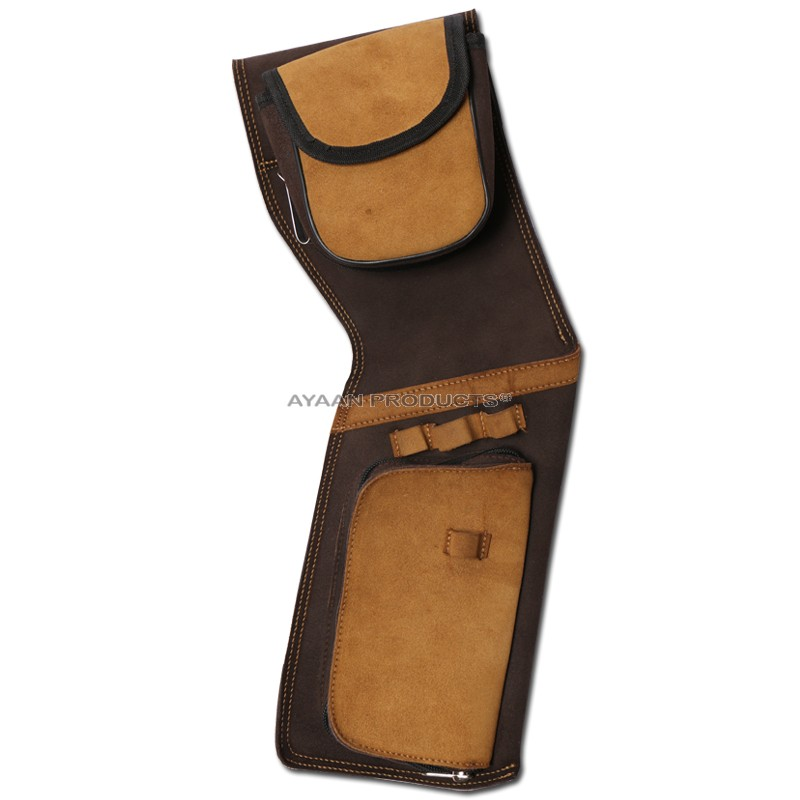 Ayaan Leather Hip Quiver