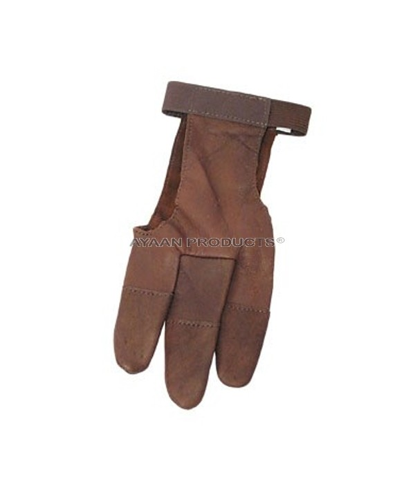 Leather Targeting Gloves