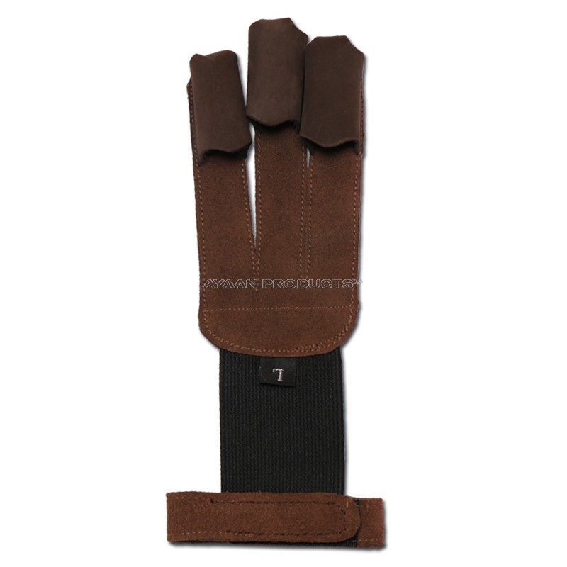 Leather Archery Hunting Gloves