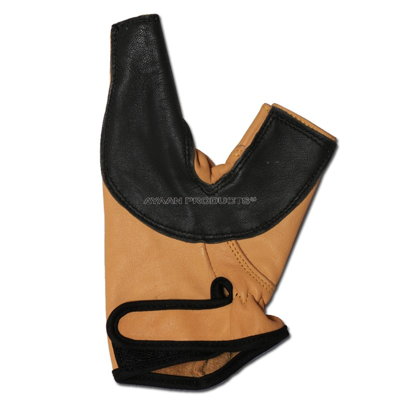 2 Finger Leather Hand Protector