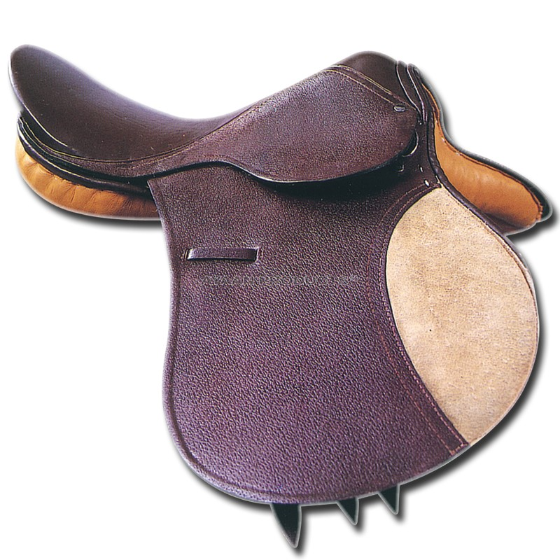 Jumping Saddle Leather
