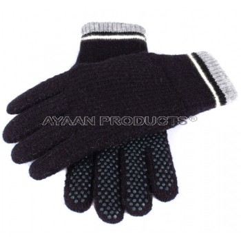 Men's Gripper Palm Knitted Gloves