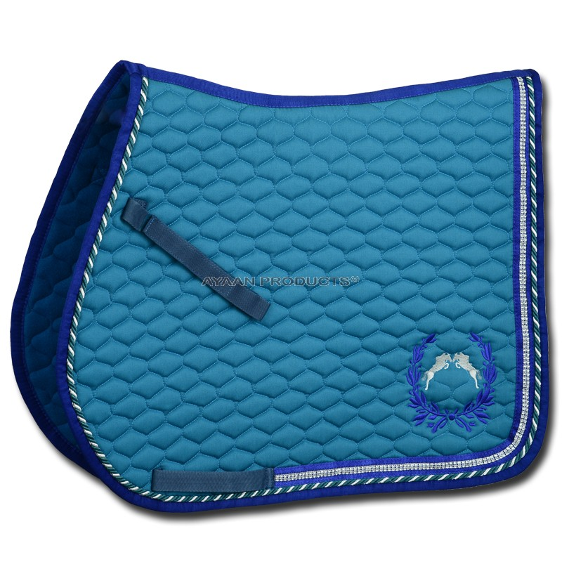 Saddle Pad Embroidery
