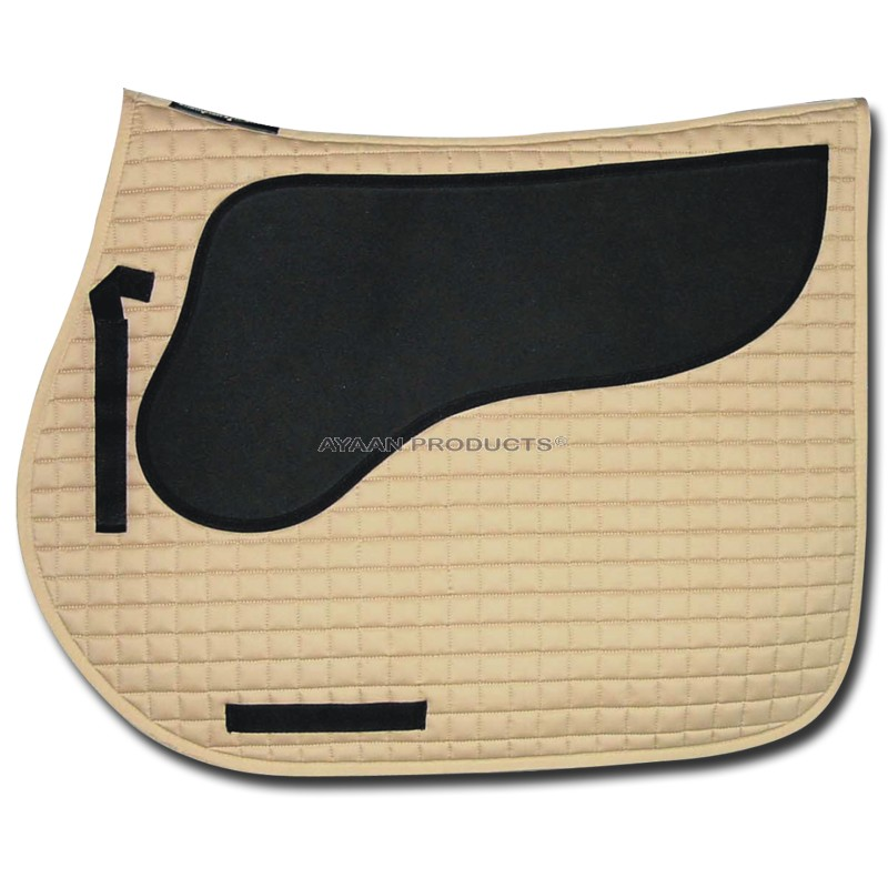 Neoprene Padded Dressaga Saddle Pad