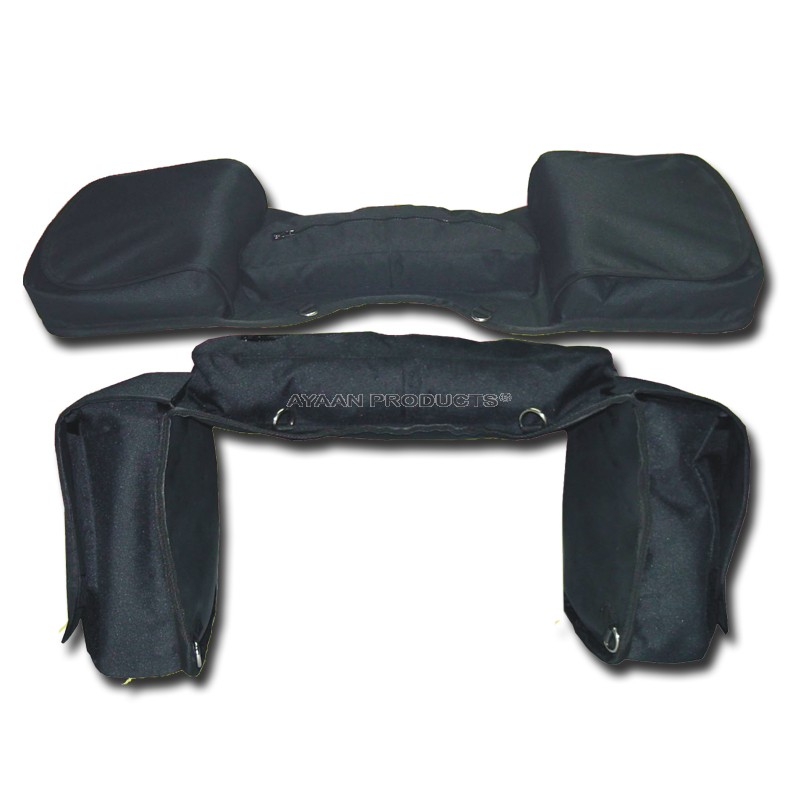Three Set Saddle Bag