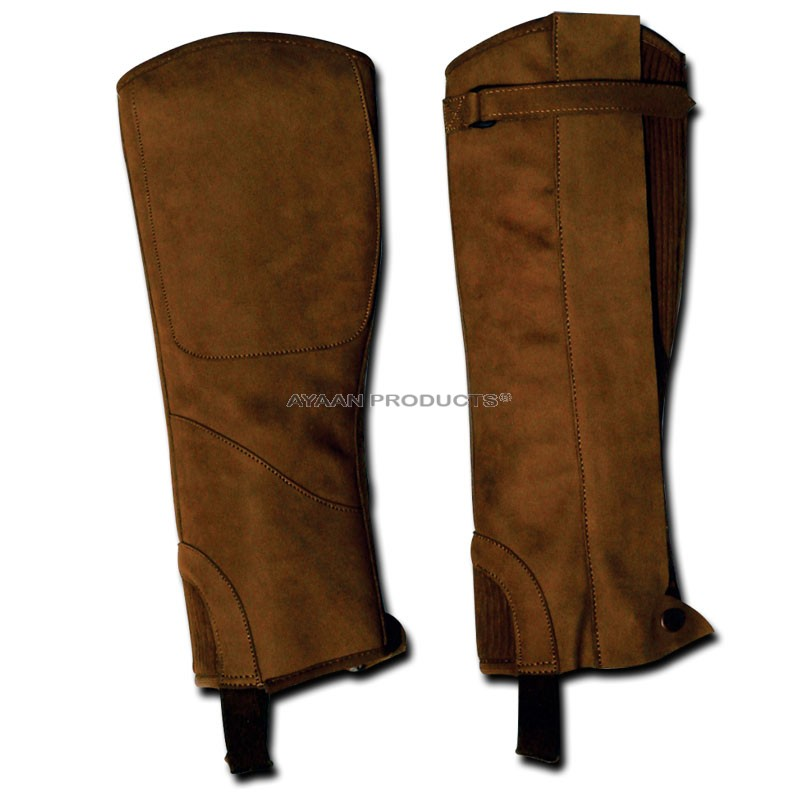 Leather Half Riding Chaps