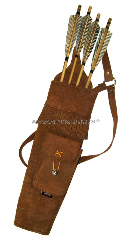 Traditional Arrow Back Quiver