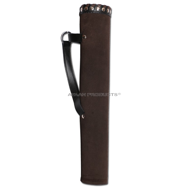 Archery Leather Side Quiver