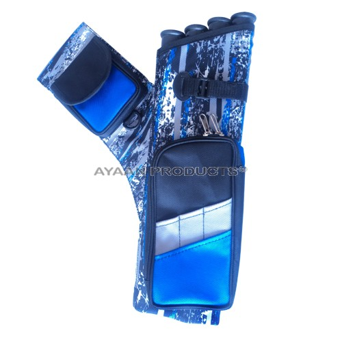 Special Fabric Sublimation 4 Tube Side Quiver