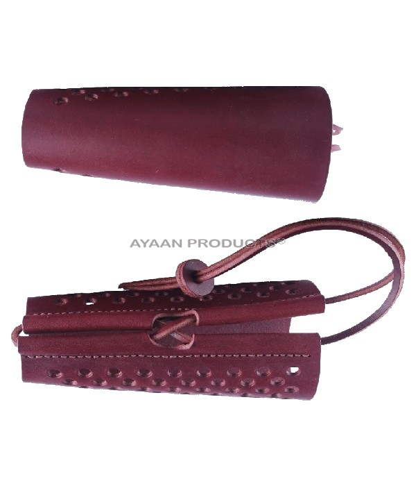Traditional Hunting Arm Guards