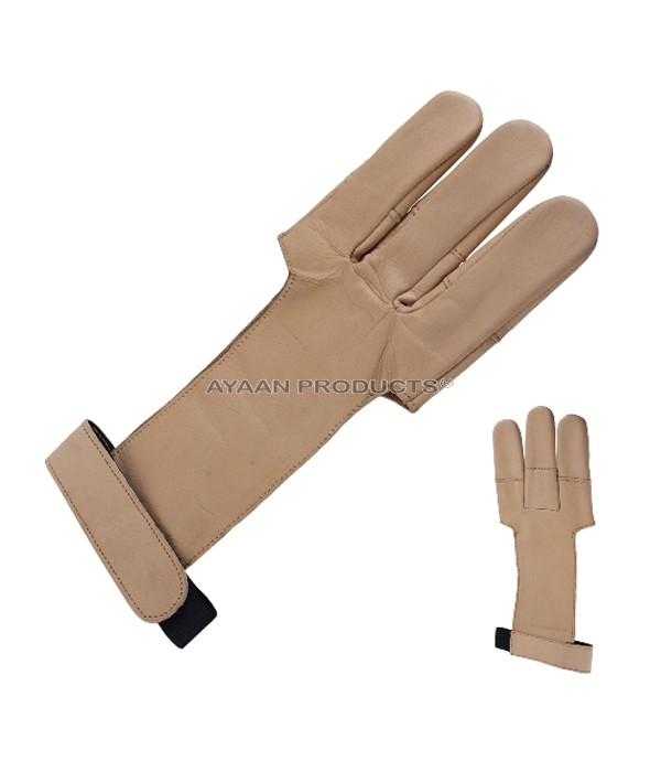 Archery Leather Gloves