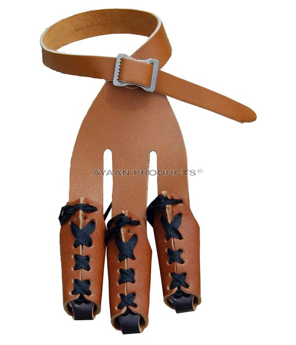 Archery Leather Tip Gloves