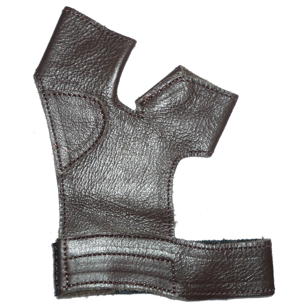 Archery Shooting Leather Gloves