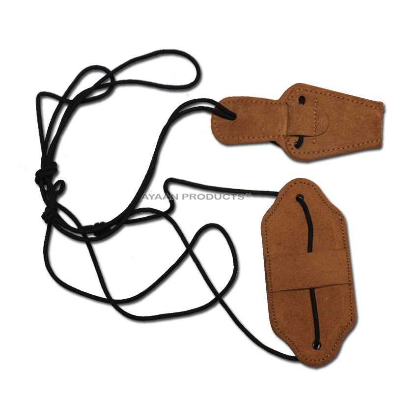 Deluxe Leather Bow Stringer