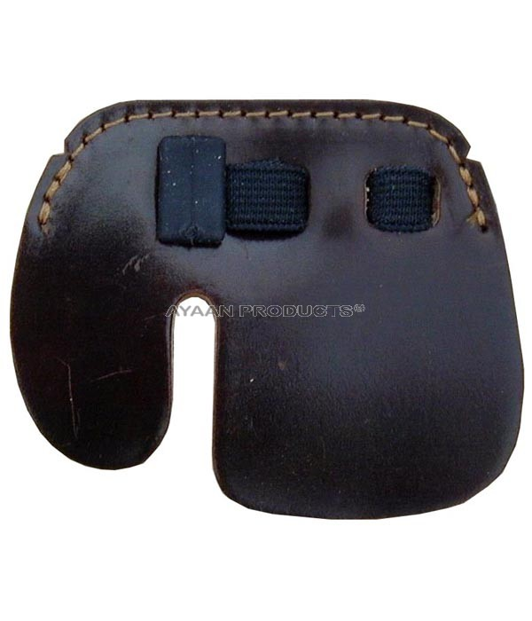 Cordovan Leather Finger Tab