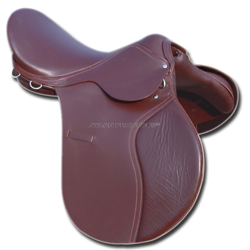 Leather Jumping Saddle