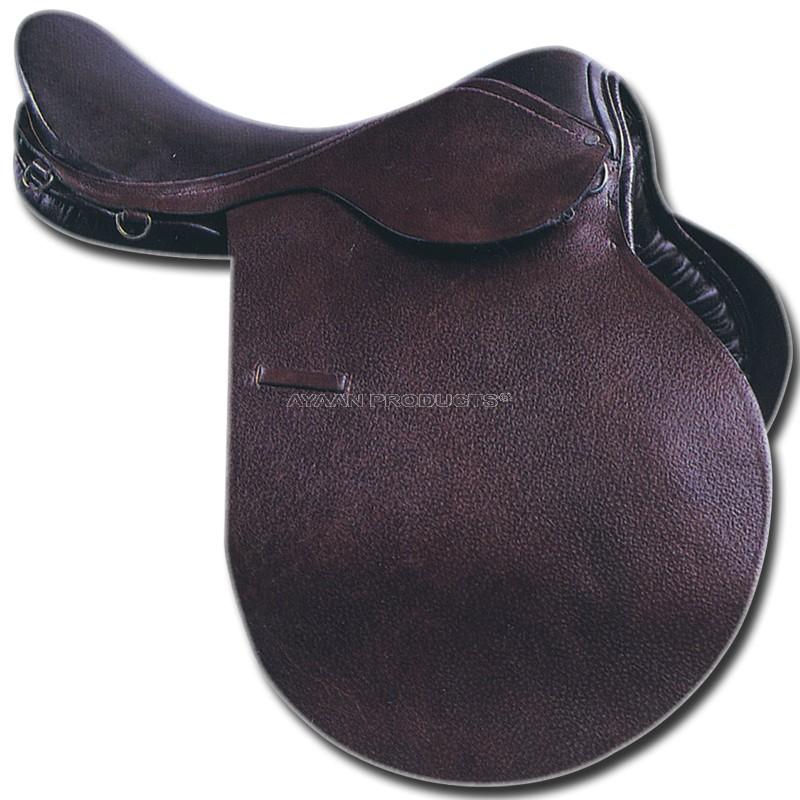 Plain Flaps Jumping Saddle