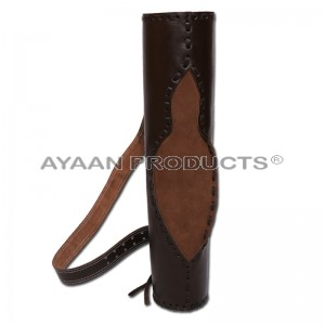 Leather Arrow Back Quiver