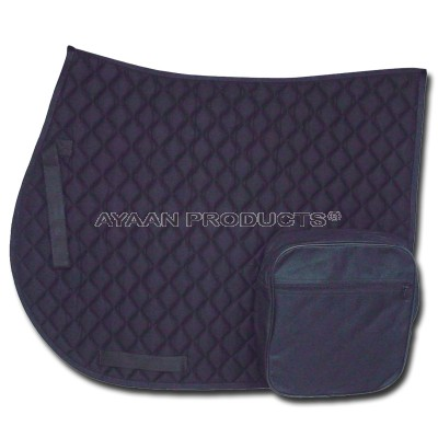 English Saddle Pad With Pocket