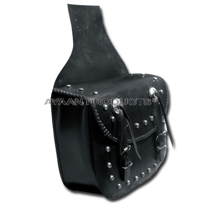 Leather Saddle Bag Riding