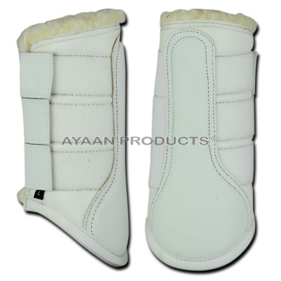 Fur Brushing Boot Leather
