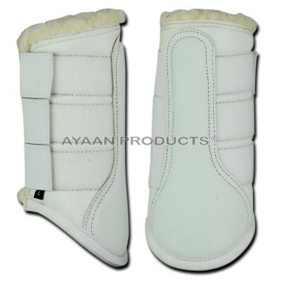 Fur Brushing Boot Leather