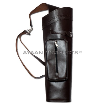 Archery Brown Back Quiver