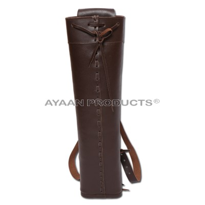 Shooting Leather Back Quiver