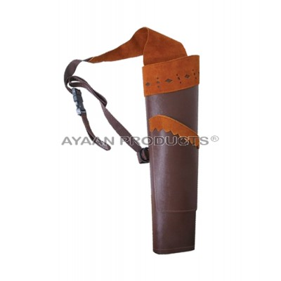 Archery Traditional Back Quiver