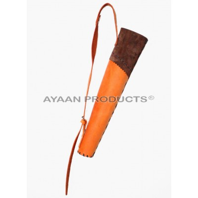 Youth Leather Back Quiver