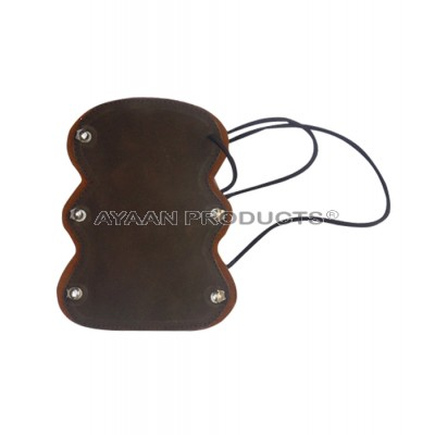 Shooting Arm Guard in Leather
