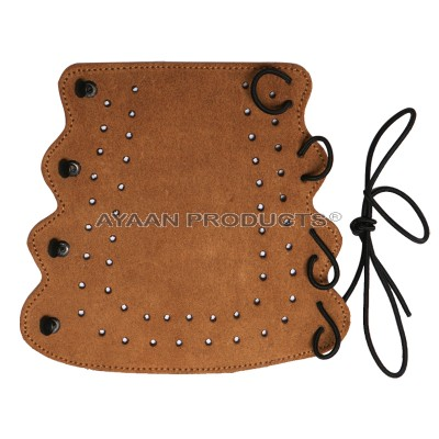 Traditional Leather Archery Arm Guard
