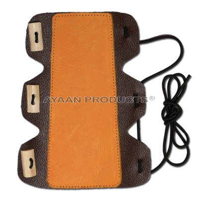Traditional Leather Bow Arm Guard