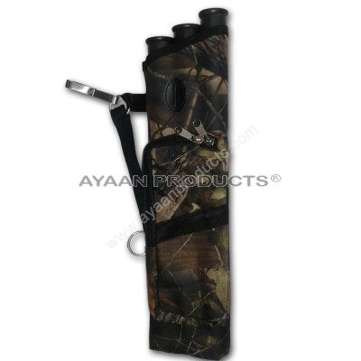 3 Tube Camo Side Quiver