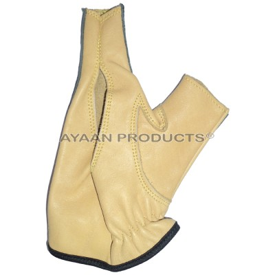 Archery Leather Shooting Gloves