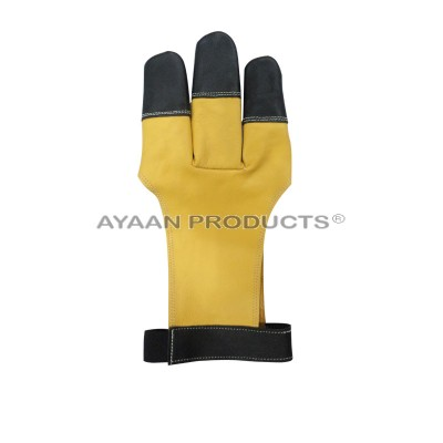 3 Finger Shooting Gloves Archery