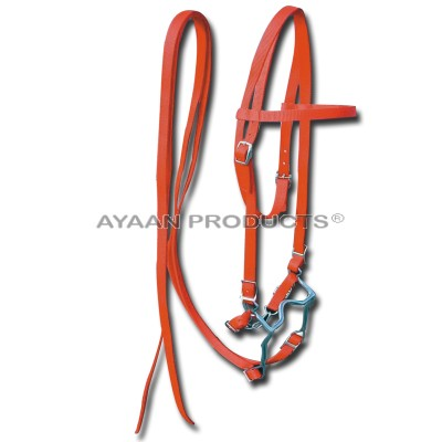 Horse Bridles Orange